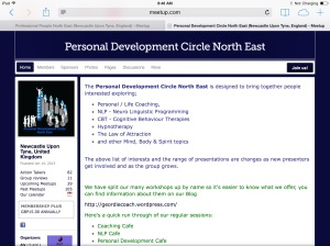 Personal Development Circle North East